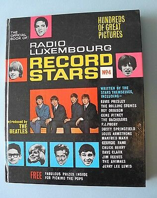 Radio Luxembourg (The Official Book of) - Record Stars No:4