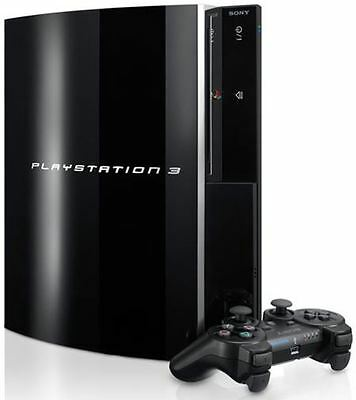 Sony PlayStation 3 80GB Piano Black Console