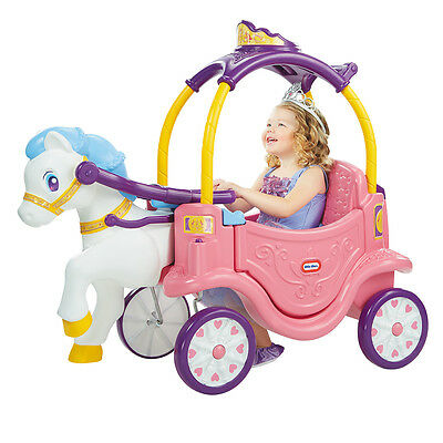 Little Tikes Princess Cozy Chariot, Kids Ride On Car