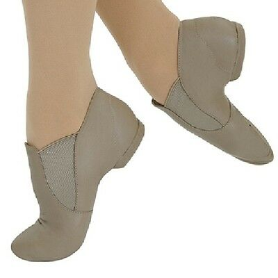 Capezio CG05 Adult Size 10M Tan Slip On Jazz Boot