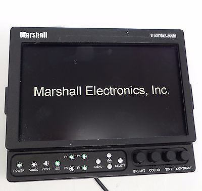 Marshall Monitor V-LCD70XP-3GSDI used hdmi converter included