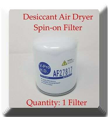 Brake Air Dryer Filter Fits: Freightliner Kenworth Peterbilt Western Star Mack