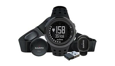 Suunto M5 All Black HRM Heart Rate Monitor Sports Watch