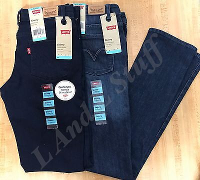 Levi's Girls Skinny Jeans Stretch Variety NEW
