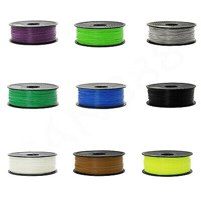 Filament stampante 3D PLA 1,75mm millimetri 1kg Per MakerBot multiplo colori IT