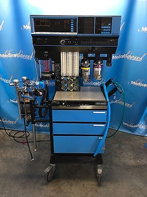 North American Drager Narkomed 3 Anesthesia Machine