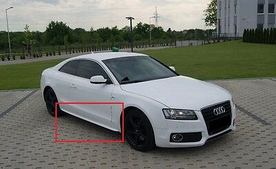 Audi A5 8T 8T0 S5 S-Line Look Side Skirts / Side Bar New