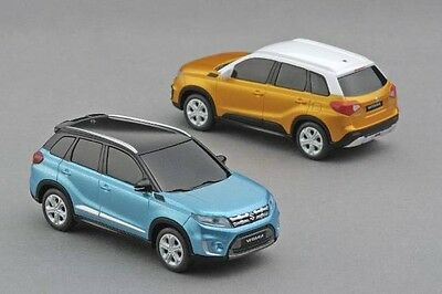 2x NEW Genuine Suzuki VITARA Pull Back Cars Toy Model 1:43 Car 99000-990K4-VTR