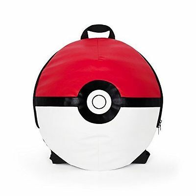 Pokemon Go Backpack Poke Ball School Bag 3D Shoulder Laptop Polyester 16 Inch