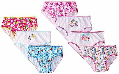 Handcraft Little Girls'  My Little Pony  Panty (Pack of 7) Multi 8