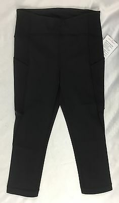 3b35f5be5f LULULEMON WOMEN SOLE Training Crop Luxtreme High Rise PSDN Teal Size ...