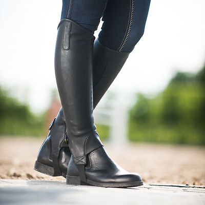 Horze Desta Synthetic Leather-Like Half Chaps