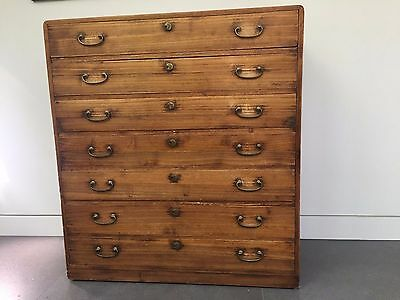 Antique Japanese chest of drawers