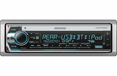 Kenwood KMR-D768BT Marine CD/MP3/WMA Player Bluetooth SiriusXM Radio Ready New
