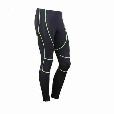 Men's Outdoor Cycling Tights Bicycle Pants 3D Gel Padded Cycling Shorts Trousers