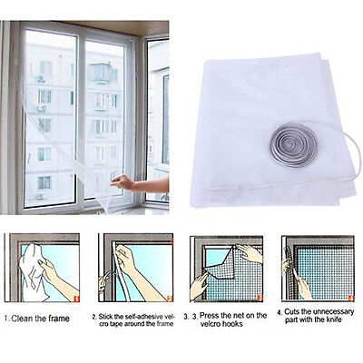 Summer Insect Fly Bug Mosquito Door Window Net Mesh Screen Curtain Protector New