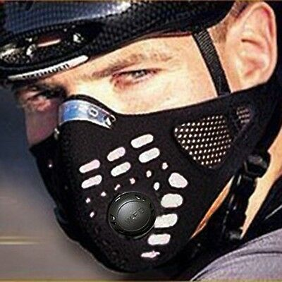 Anti Dust Half Face Mask Filter Mouth-muffle for Outdoor Cycling Riding Bike
