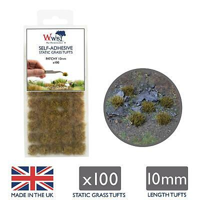 WWS Patchy Grass 10mm Self Adhesive Static Grass Tufts