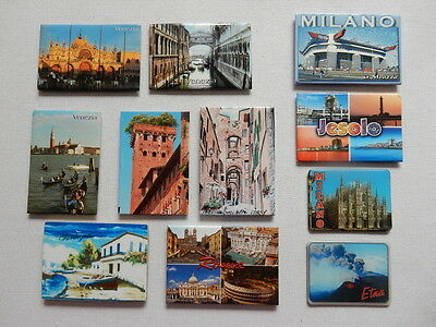 One Selected Souvenir Fridge Magnet from Italy