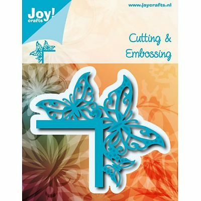 Joy Crafts Cutting Embossing Die Stencil Butterfly Corner Border 6002/0764