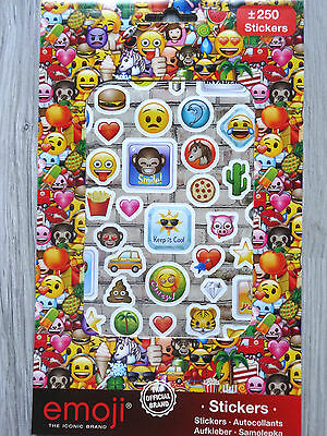 Emoji-- Sticker--ca. 250  Aufkleber/Stickers--Smiley--emoji--Emoticon-Smilie (3)