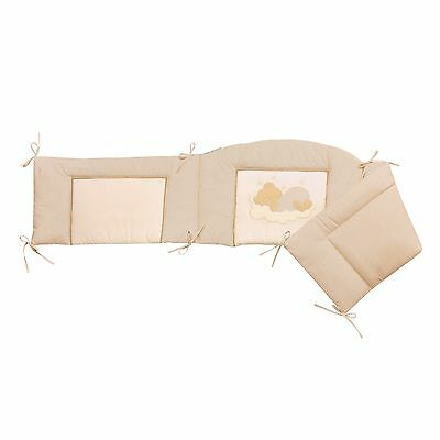 Easy-Baby Nestchen für Kinderbett 70x140 cm Sleeping bear natur 420-83 TOP