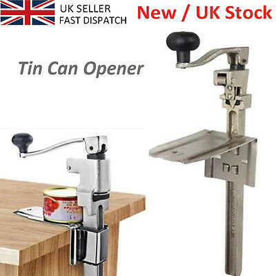 "Heavy Duty Table Bench Clamp Can Opener 13"" Commercial Kitchen Restaurant Chef E"