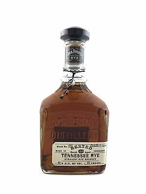 Jack Daniels Rested Tennessee Rye Whiskey. 750ml Batch No.002
