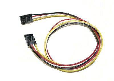 2543 2.54mm F/F 4-Pin UL1007 26AWG Electronic brick 12C Connector wire 400mm x 5