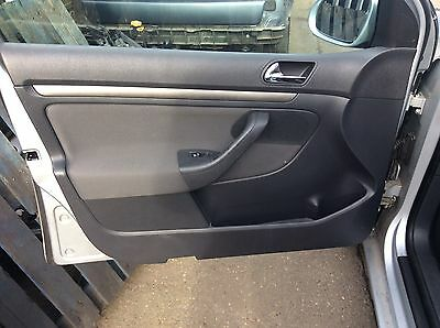 Vw Golf Mk5 Passenger Side Front Door Card Trim Panel