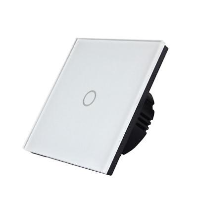 1/2/3-Way Practical Crystal Glass Light Touch Screen Switch UK Standard
