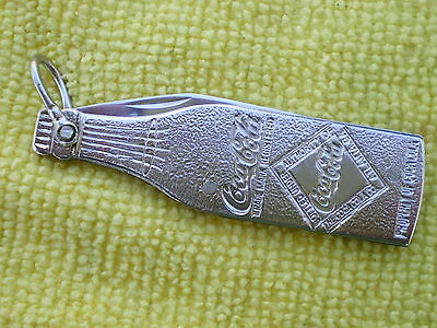 Vintage Remington Pocket Knife Coca Cola All Metal No Rust Free Ship