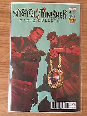 Doctor Strange The Punisher Magic Bullets #1 Run The Jewels Variant Midtown Excl