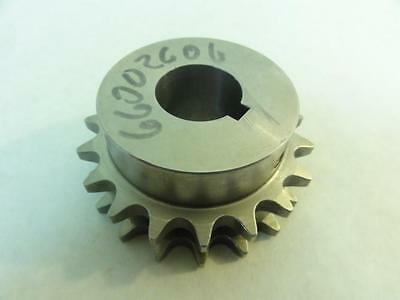 """169225 Old-Stock, MFG- D40B18X1SS Double Sprocket #40, 18T, 1"""" ID"""