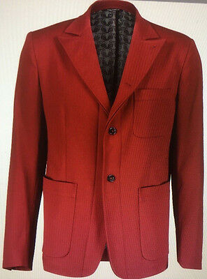 Dolce & Gabbana Red Blazer Jacket SIZE UK 44  , EUR 54