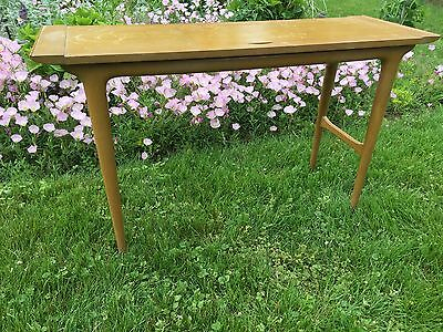Antique Vintage IMPERIAL Grand Rapids Michigan Mahogany Table Mid Century Modern