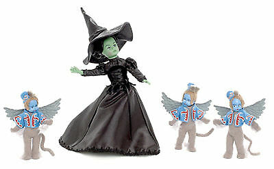 """Madame Alexander Limited Edition 10"""" DOLL WOZ WICKED WITCH AND WINGED MONKEYS"""