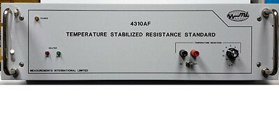 4310 Measurements International Temp Stabilized Resistance Calibration Standard
