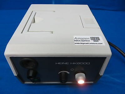 Heine HK6000 Light Source, 90 Day Warranty