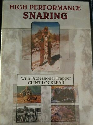 Clint Locklears High Performance Snaring Dvd Trapping