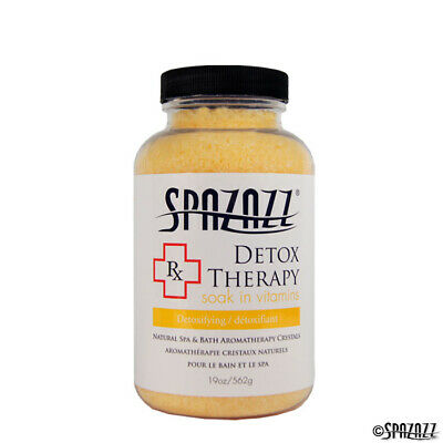 Spazazz Aromatherapy Spa and Bath Crystals- Detox Therapy