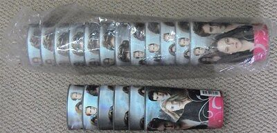 """(18) New Twilight Movie 5"""" Plastic 3-D Promo Cups/glasses-(Cup)(Glass)"""