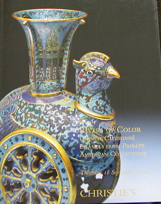 CHRISTIE'S Rivers of Color – Chinese Cloisonne Enamels 9/18/2014