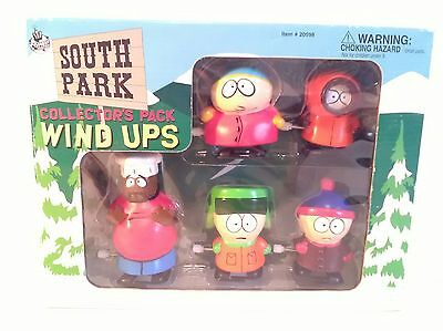 South Park Collectors Windup Toys Chef Cartman Kyle Kenny Stan 1998 new