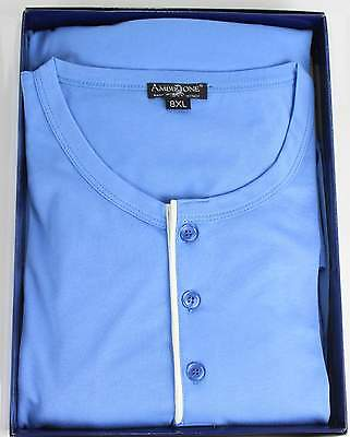 Pigiama Taglie Forti Calibrato Over Tg. 7Xl-8Xl Cotone 100% Made In Italy Uomo