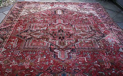 Persian Carpet - Classic Old Heriz - 1930s - Large (390cm x 290cm)