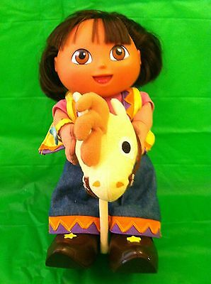 COWGIRL Dora The Explorer Toy Doll (Talks/Sings/Moves) Fisher-Price Mattel 2002
