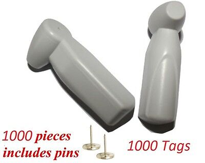 1000 pcs EAS Anti Theft AM Tags Security Tags Sensormatic ® Compatible with pins