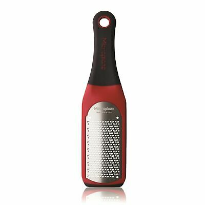 NEW MICROPLANE ARTISAN SERIES FINE ZESTER GRATER RED Grate Cheese Chocolate