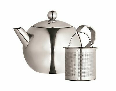 NEW AVANTI NOUVEAU STAINLESS STEEL TEAPOT Brew Herbal Infusion 1 LITRE